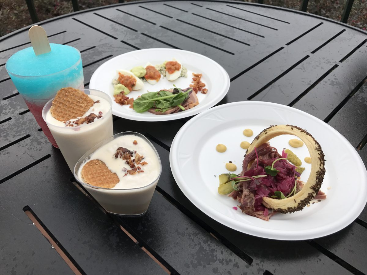 """REVIEW: """"E=AT^2"""" Food Studio - Epcot International Festival of the Arts 2017"""