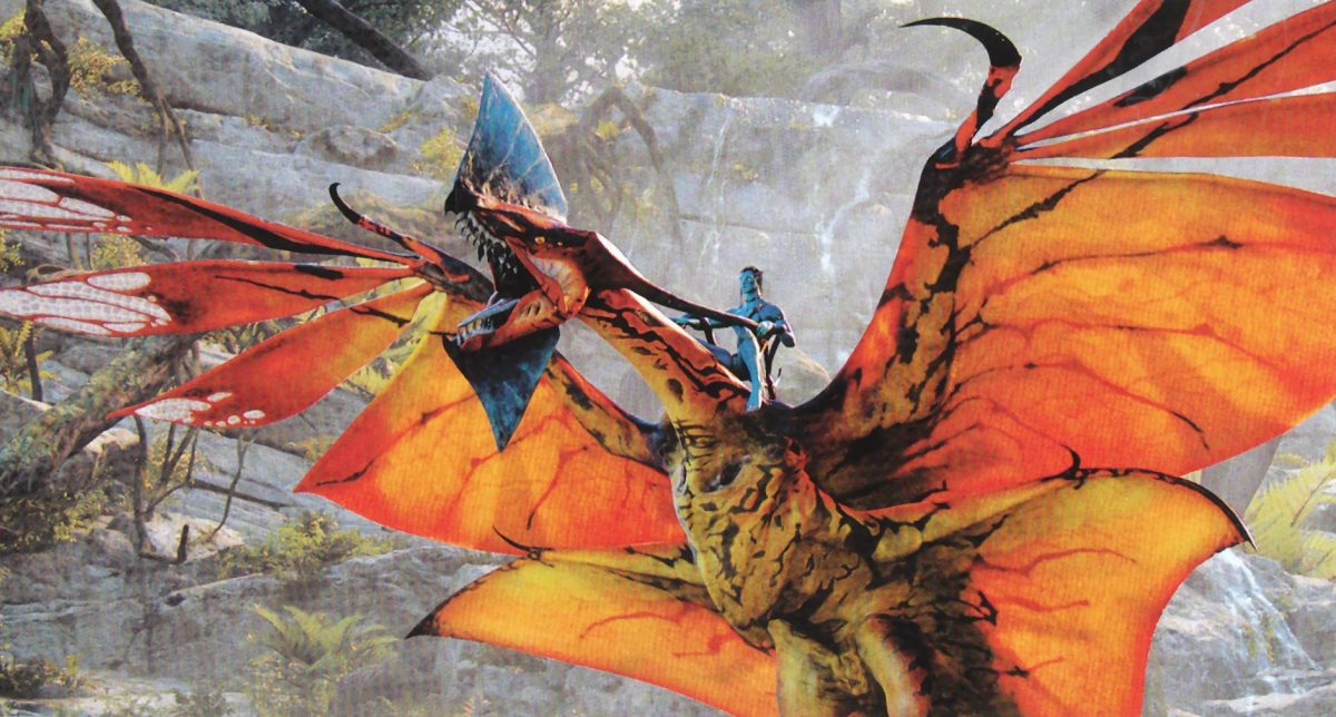 The Great Lenopternyx will appear in the AVATAR Flight of Passage attraction.