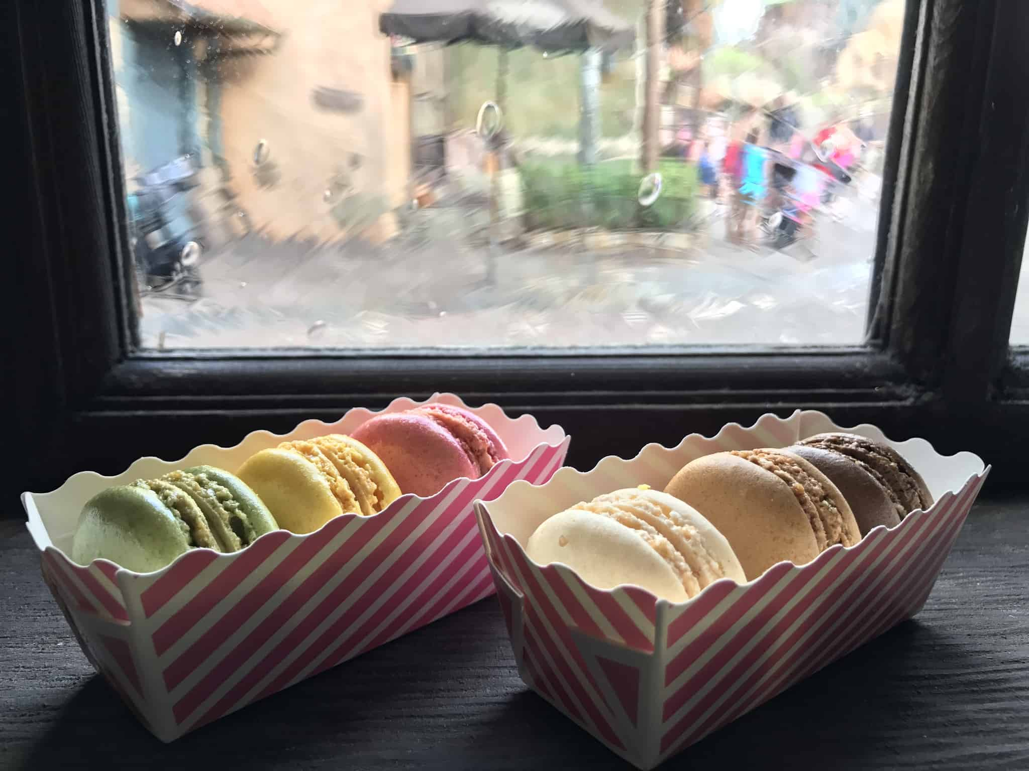 REVIEW: Gaston's Tavern at the Magic Kingdom Introduces Macaron Dessert Trios