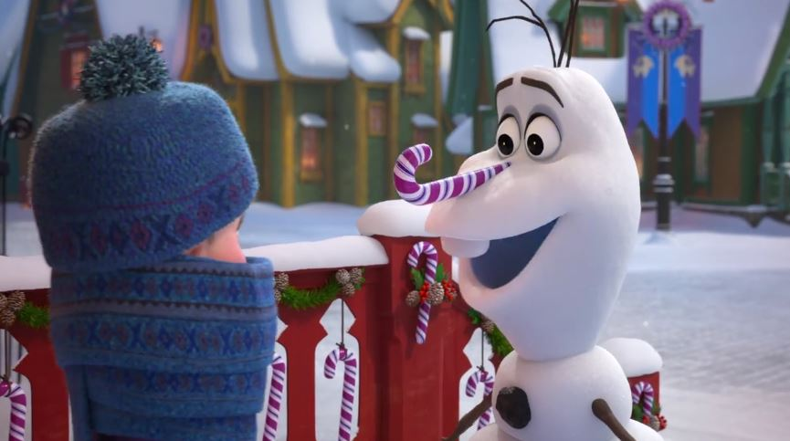 """VIDEO: Get Your First Look At The New """"Frozen"""" Short, """"Olaf's Frozen Adventure"""""""