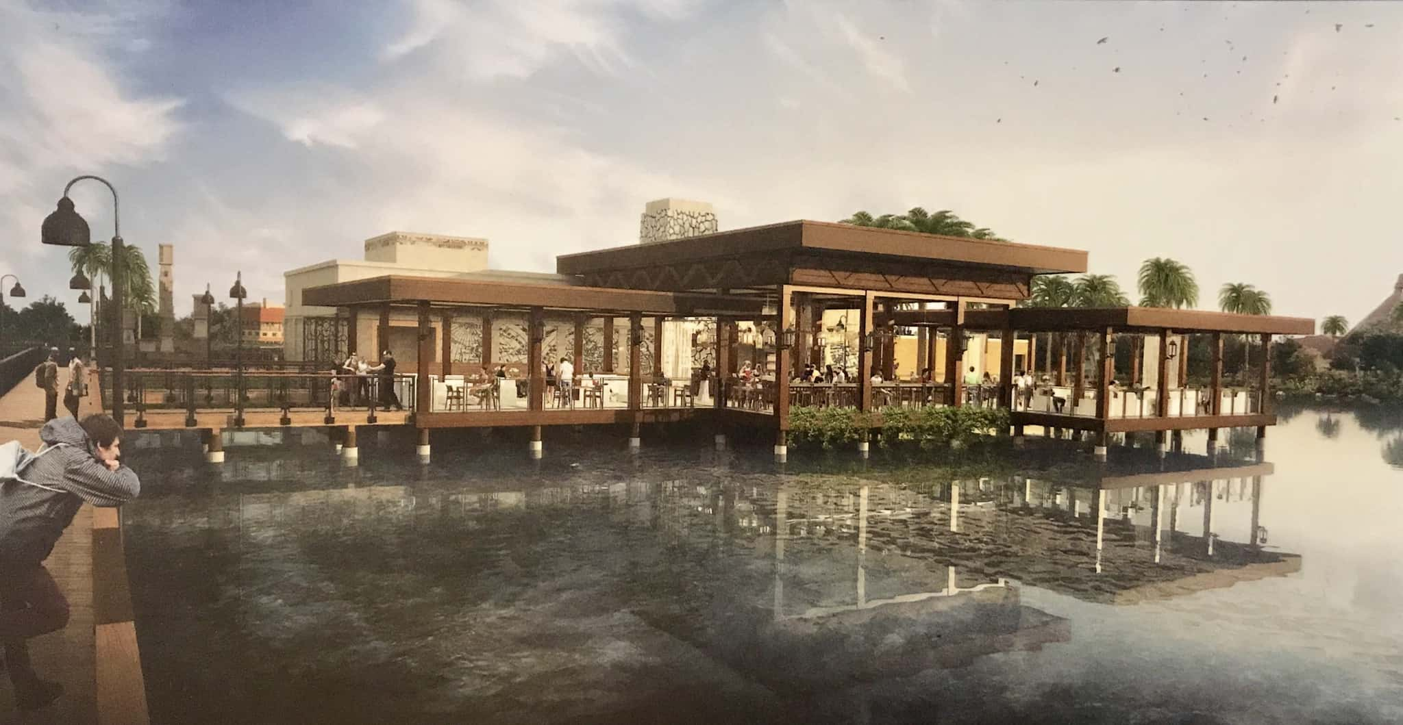 CONCEPT ART: New Over-Water Dining, Updated Look at Tower at Coronado Springs Resort
