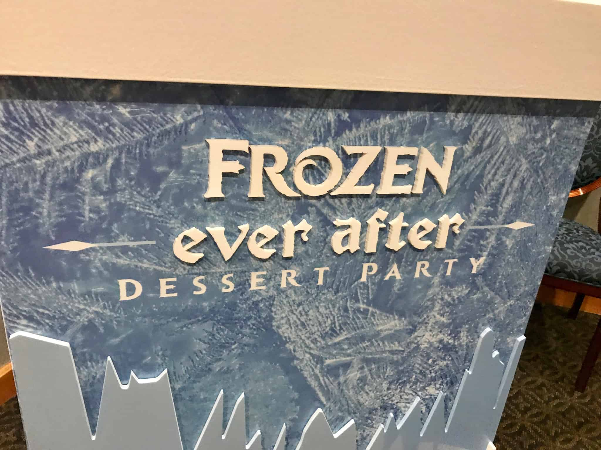 REVIEW: Frozen Ever After Sparkling Dessert Party at Epcot Might Be Worth Your Time & Money