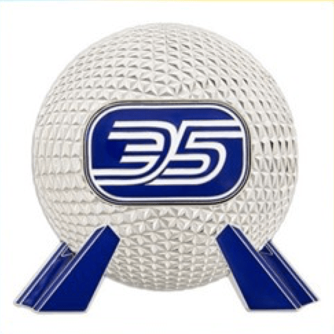 Disney Sets Several Release Dates for Epcot 35th Anniversary Limited Edition Pins