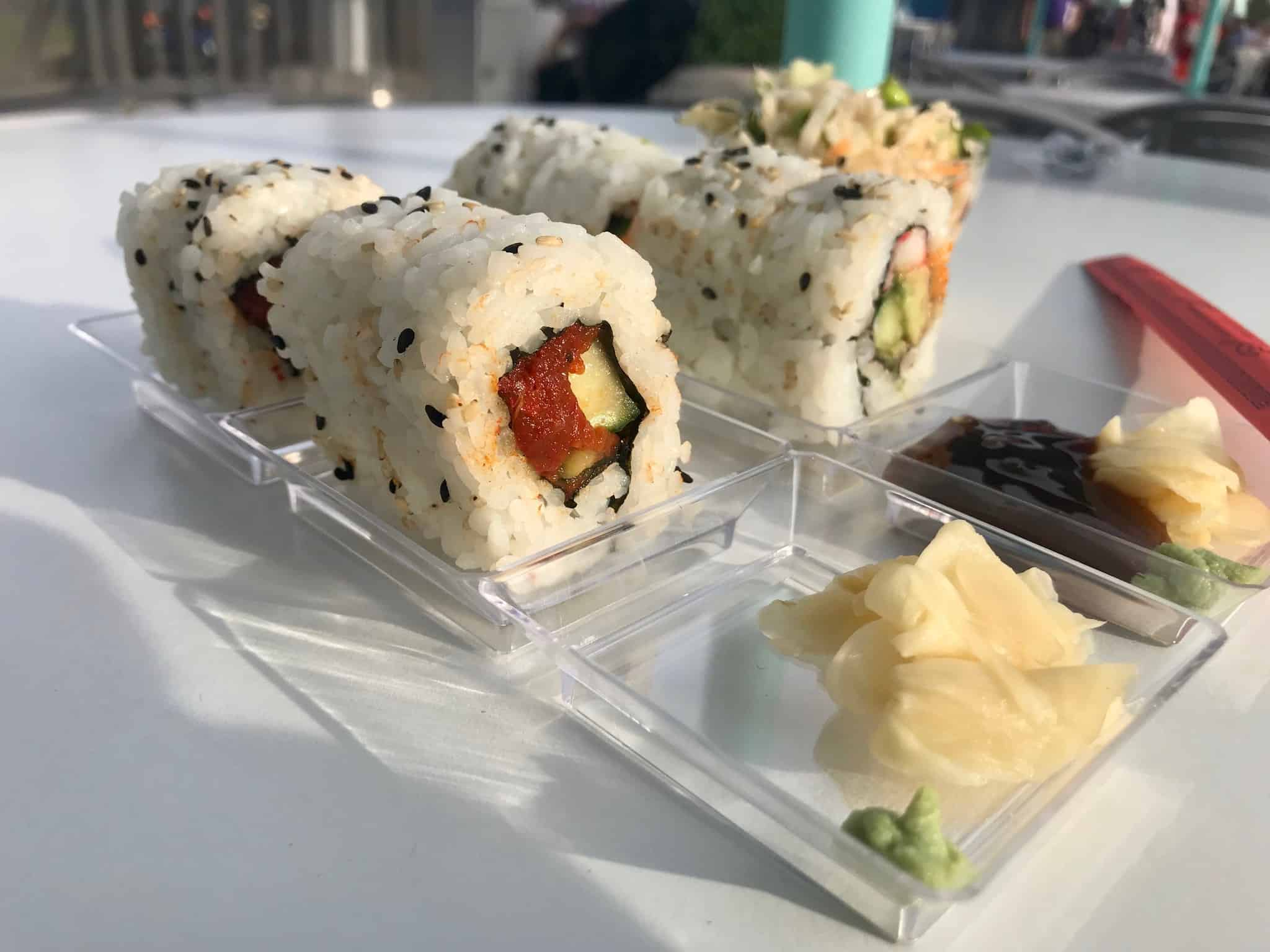 REVIEW: Sushi Lands in The Cool Ship at the Magic Kingdom