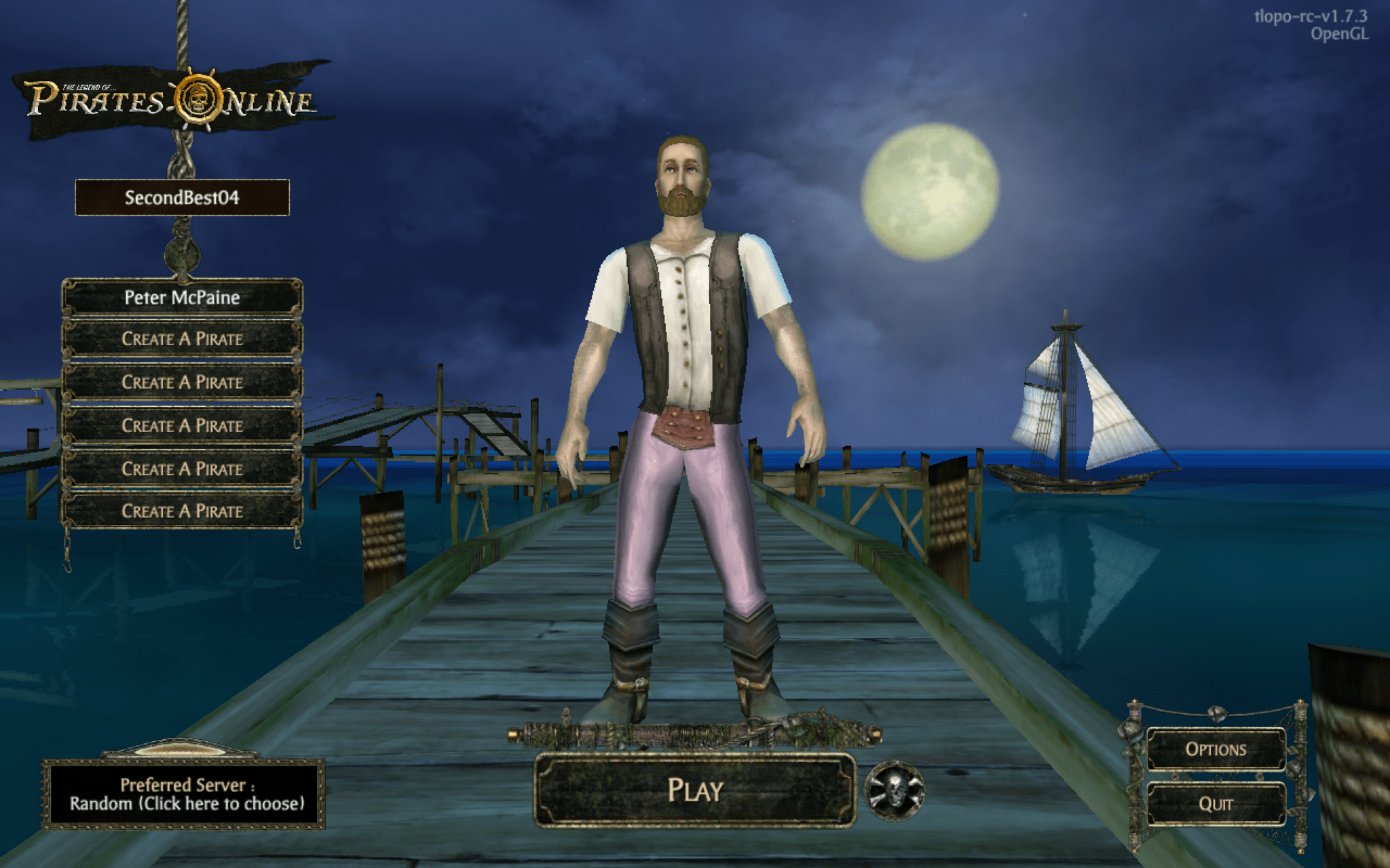 Shuttered Pirates of the Caribbean MMO Lives on in Fan-Made 'The Legend of the Pirates Online'