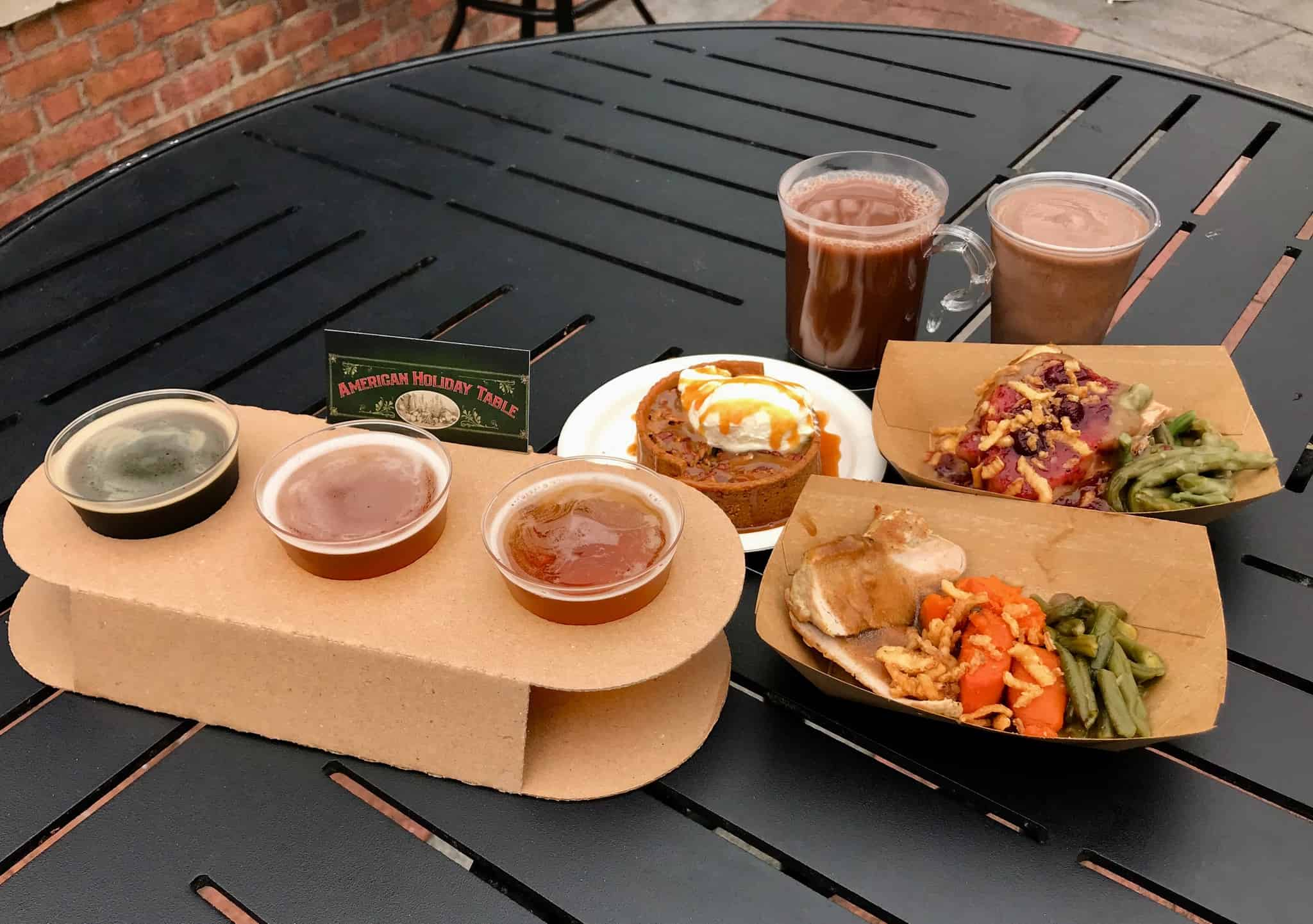 REVIEW: American Holiday Table at Epcot International Festival of the Holidays 2017