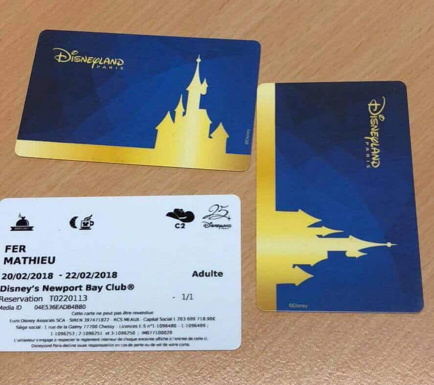 Some of the new Magic Cards at Disneyland Paris