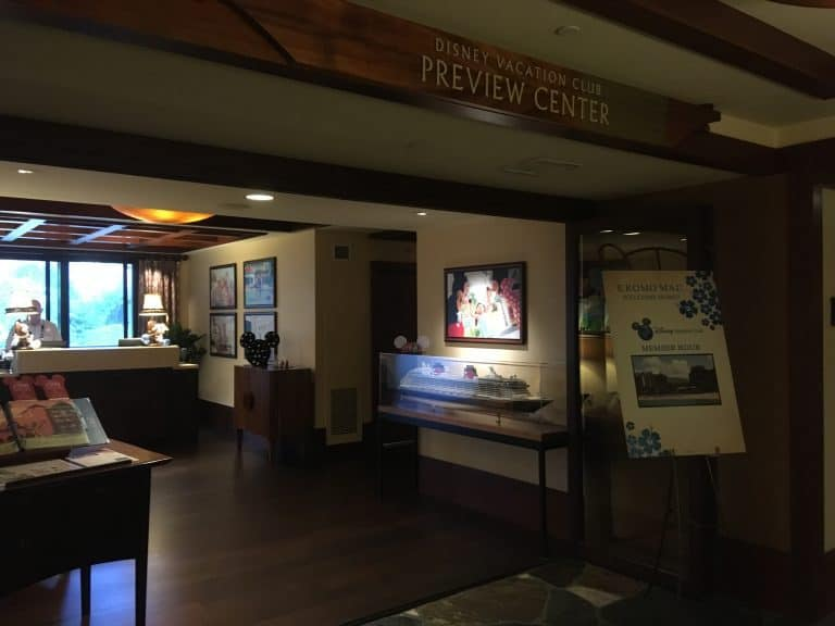The Disney Vacation Club Preview Center at The Aulani