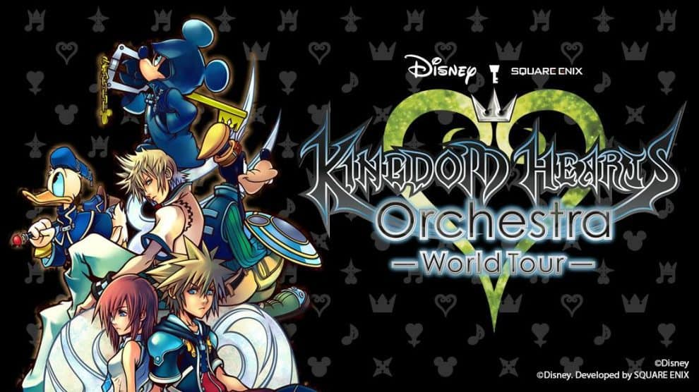 Kingdom Hearts Orchestra World Tour Poster