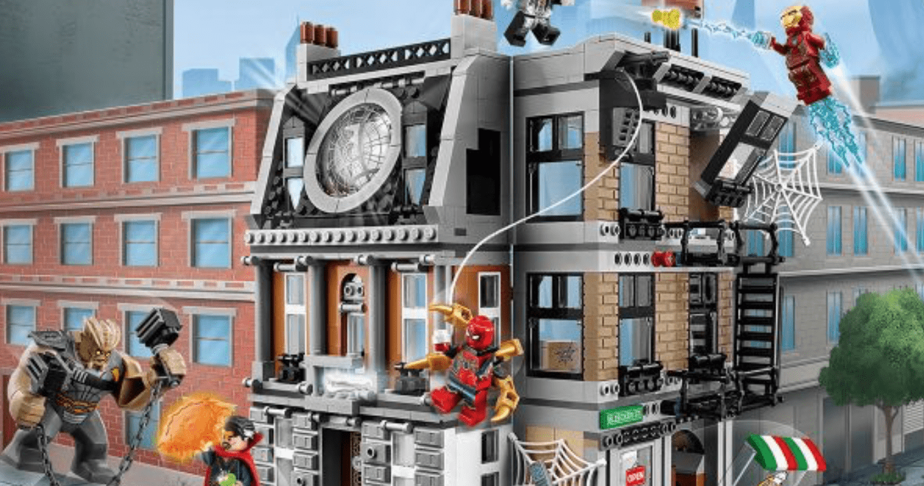 New LEGO set for Avengers: Infinity War Series
