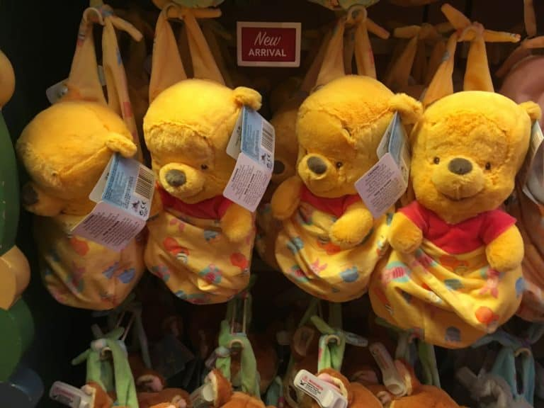 Winnie the Pooh from the Disney Babies plush line