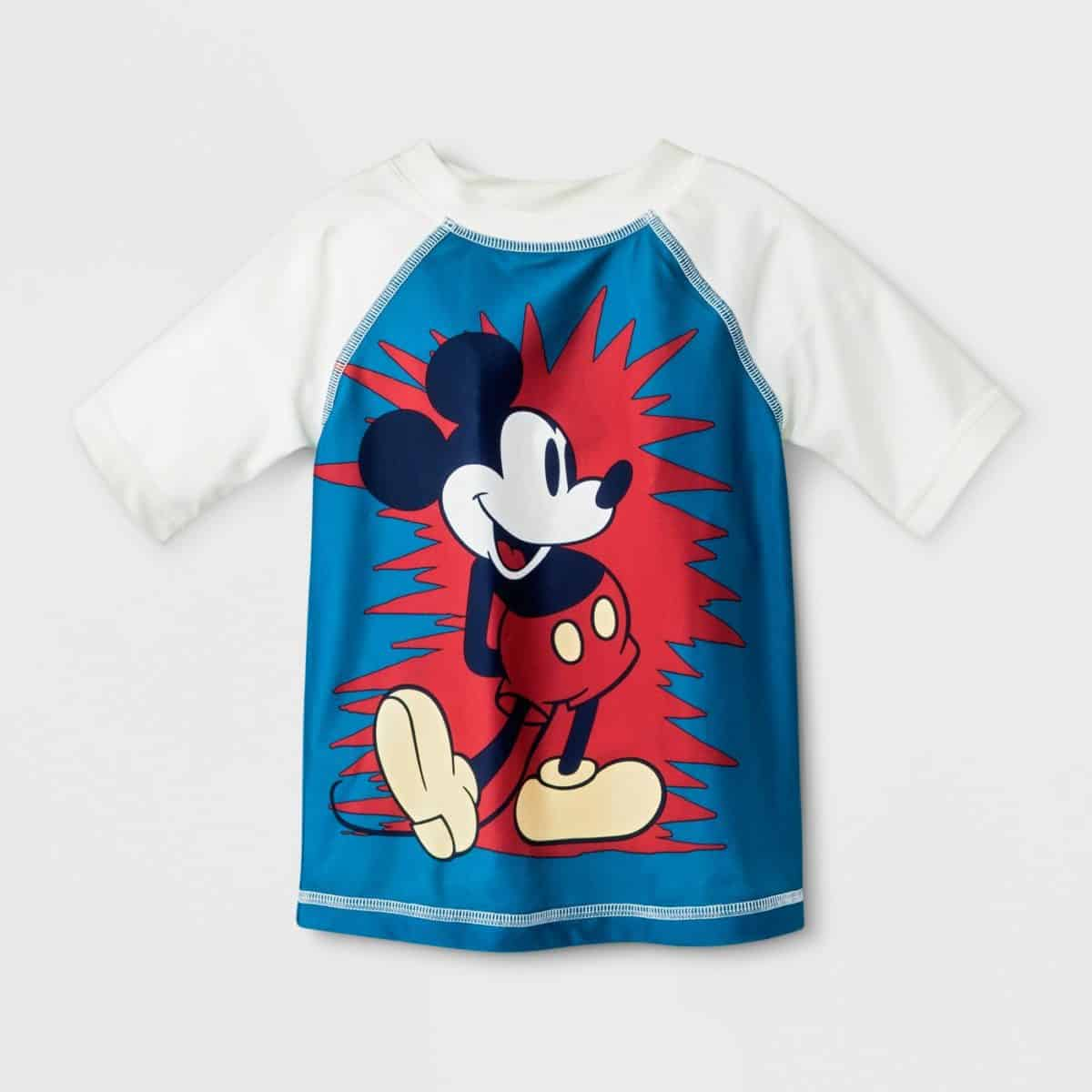 Junk Food toddler shirt Mickey Mouse.