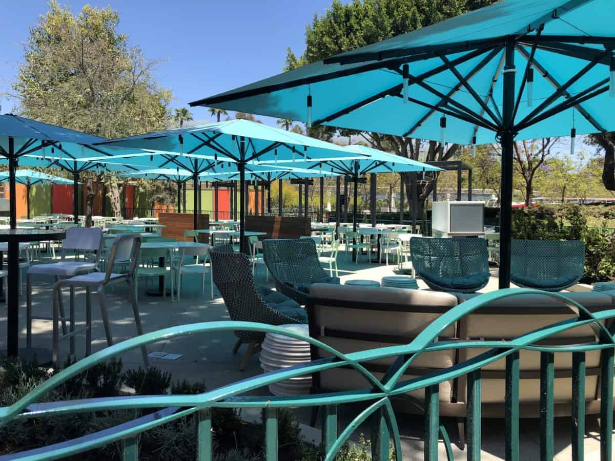 Naples, a restaurant in the Downtown Disney District, reopened their patio after a period of refurbishment