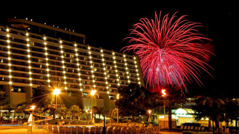 New Years Celebration at Disney's Contemporary Resort.