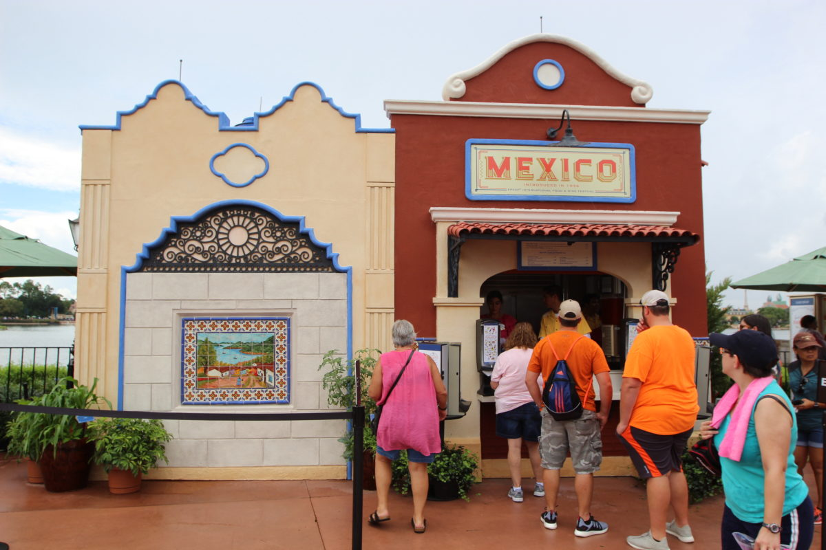 Epcot Food & Wine 2018 – Mexico Booth
