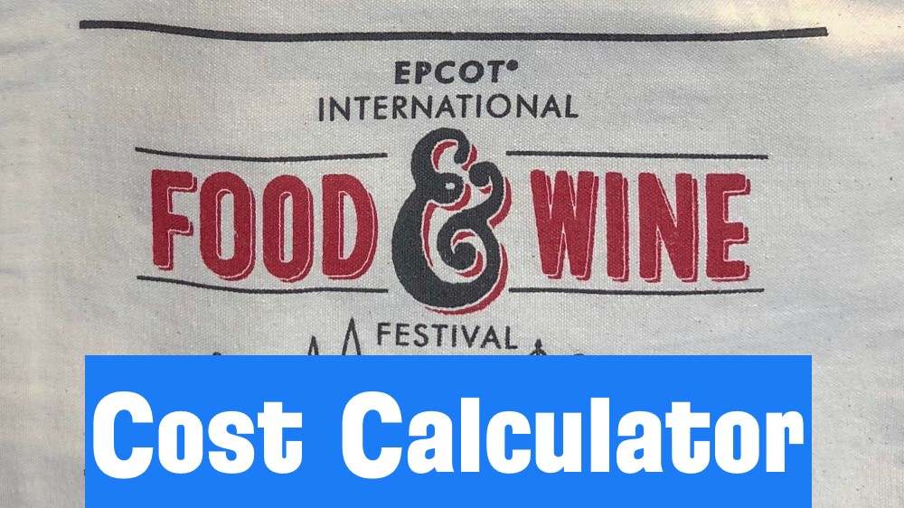 Food & Wine Cost Calculator