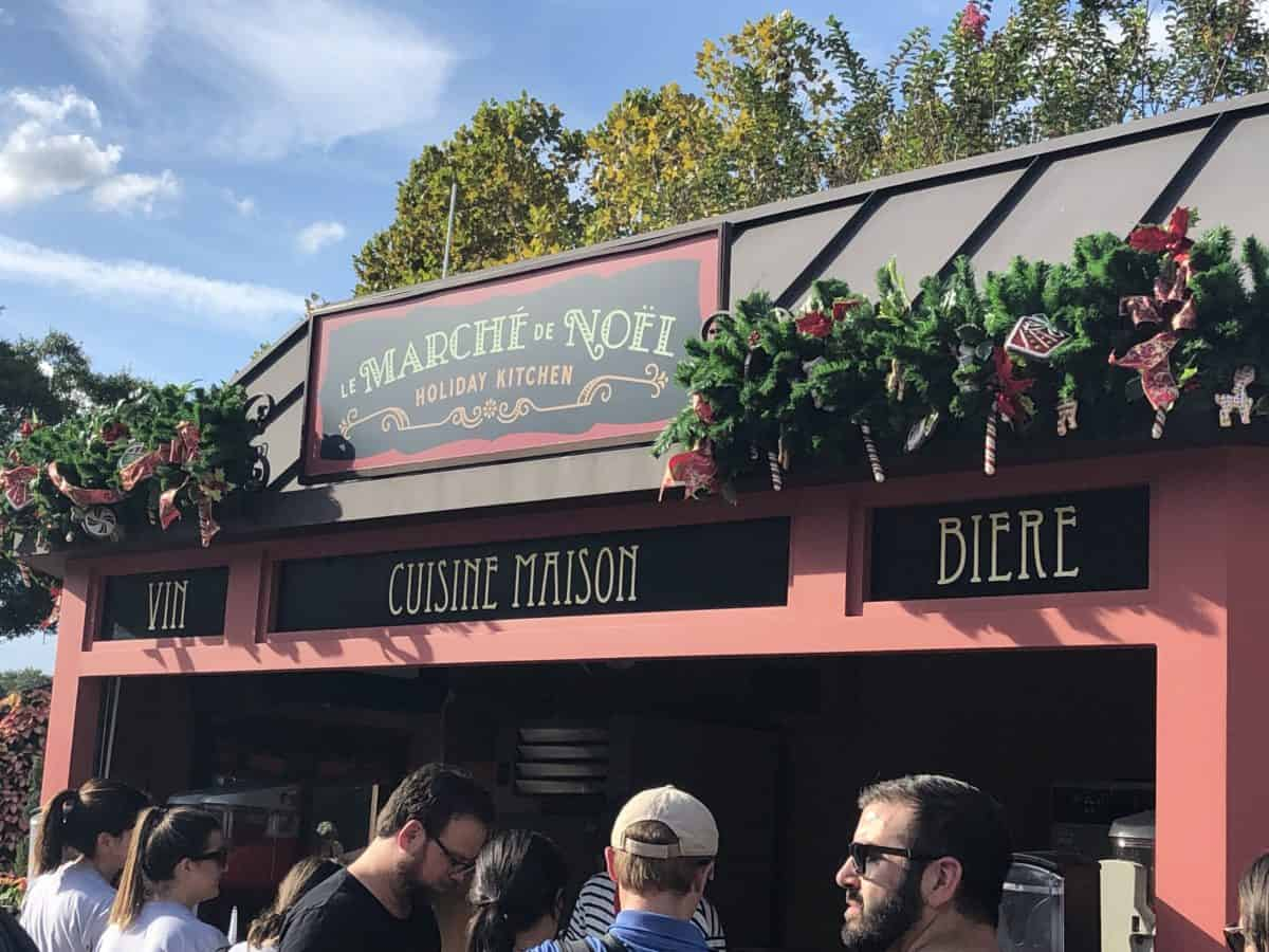 Le Marché de Noël Holiday Kitchen at the 2019 EPCOT International Festival of the Holidays