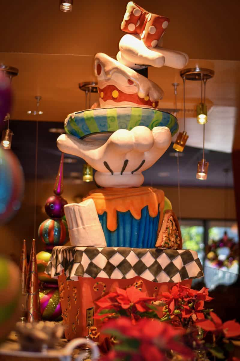 Goofy's Kitchen During Christmas