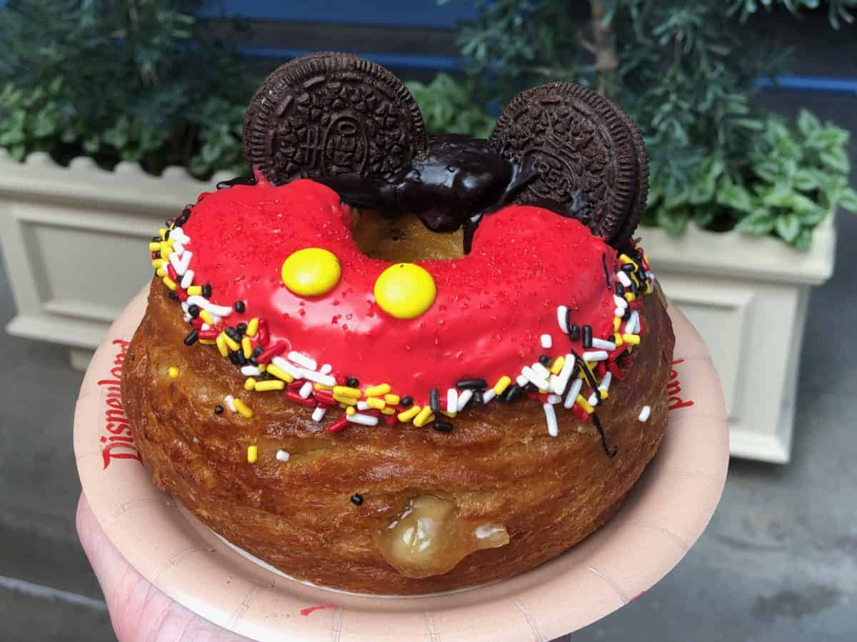 Schmoozies Mickey Donuts and Cookies 'n' Cream Shake - Get Your Ears On Celebration at Disney California Adventure