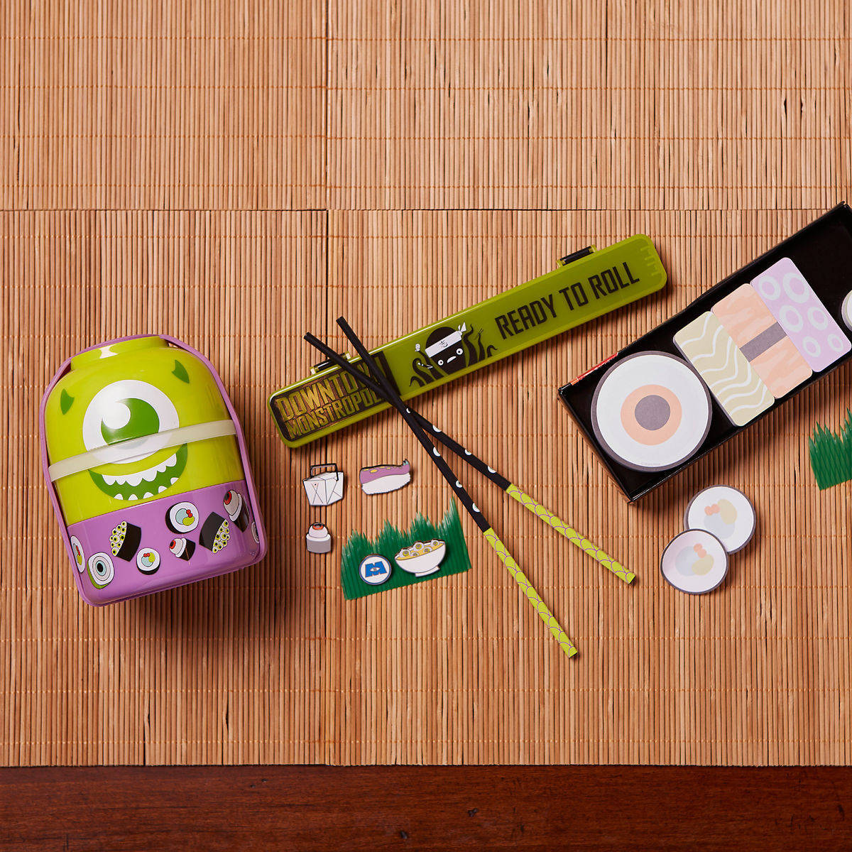 monsters inc harryhausens shopdisney sushi collection