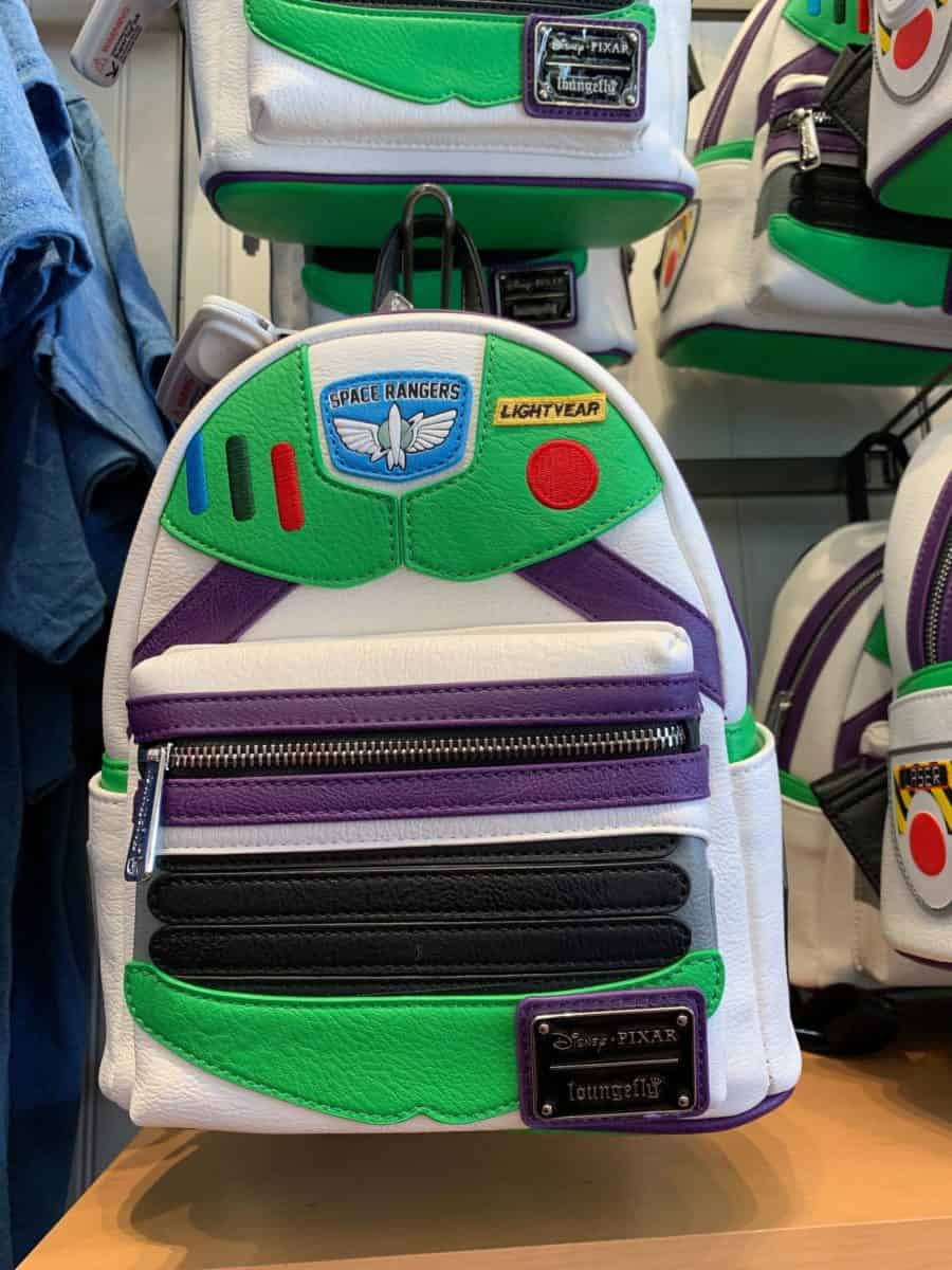 toy story 4 loungefly backpacks woody buzz lighyear disneyland disney california adventure