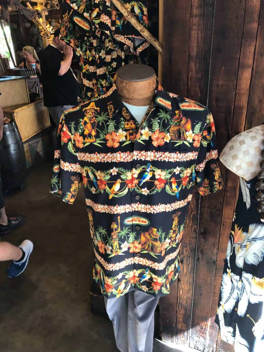 New Tommy Bahama Walt Disney's Enchanted Tiki Room Button Up Shirt