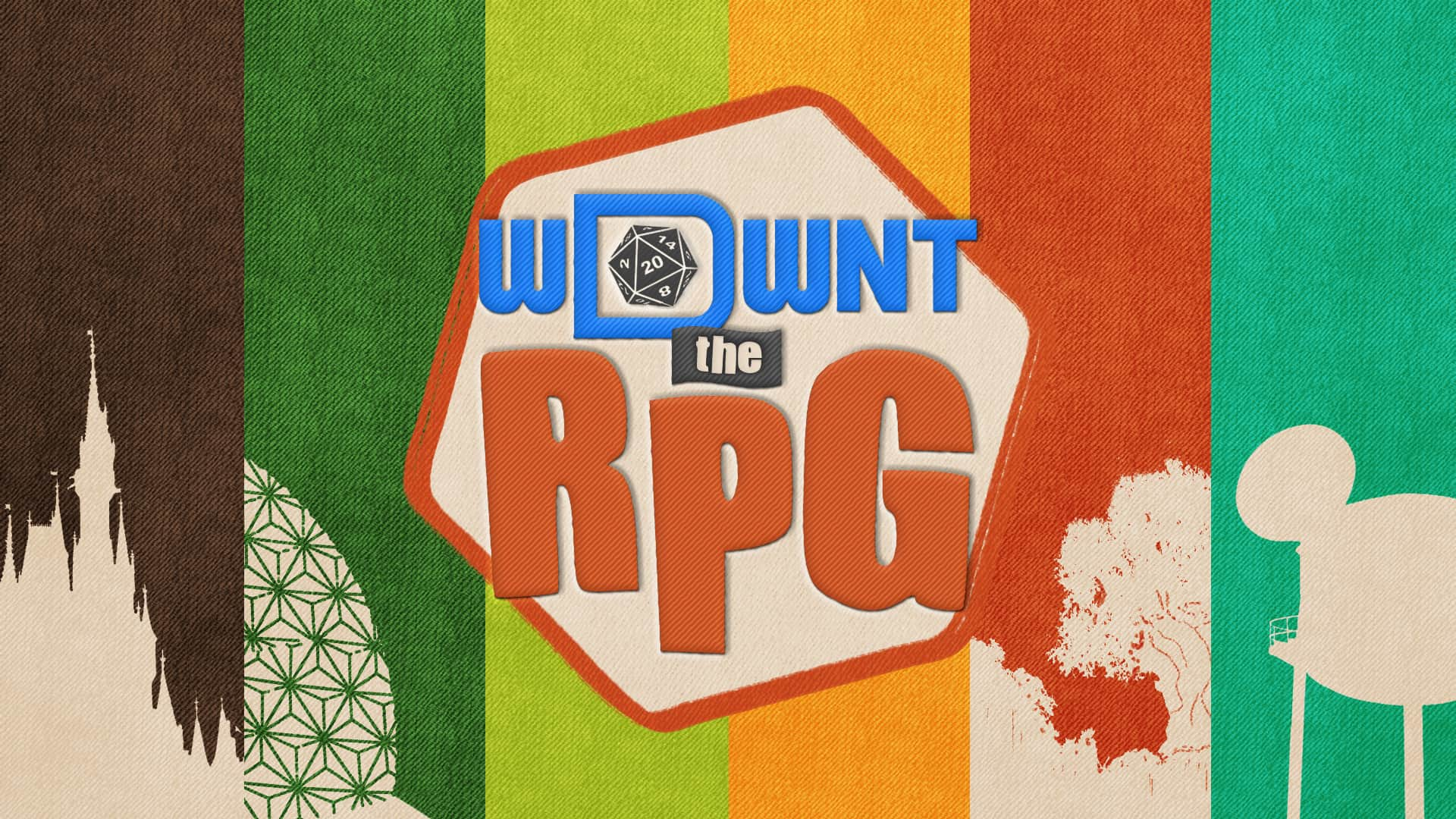 WDWNT The RPG Logo and Background Graphic