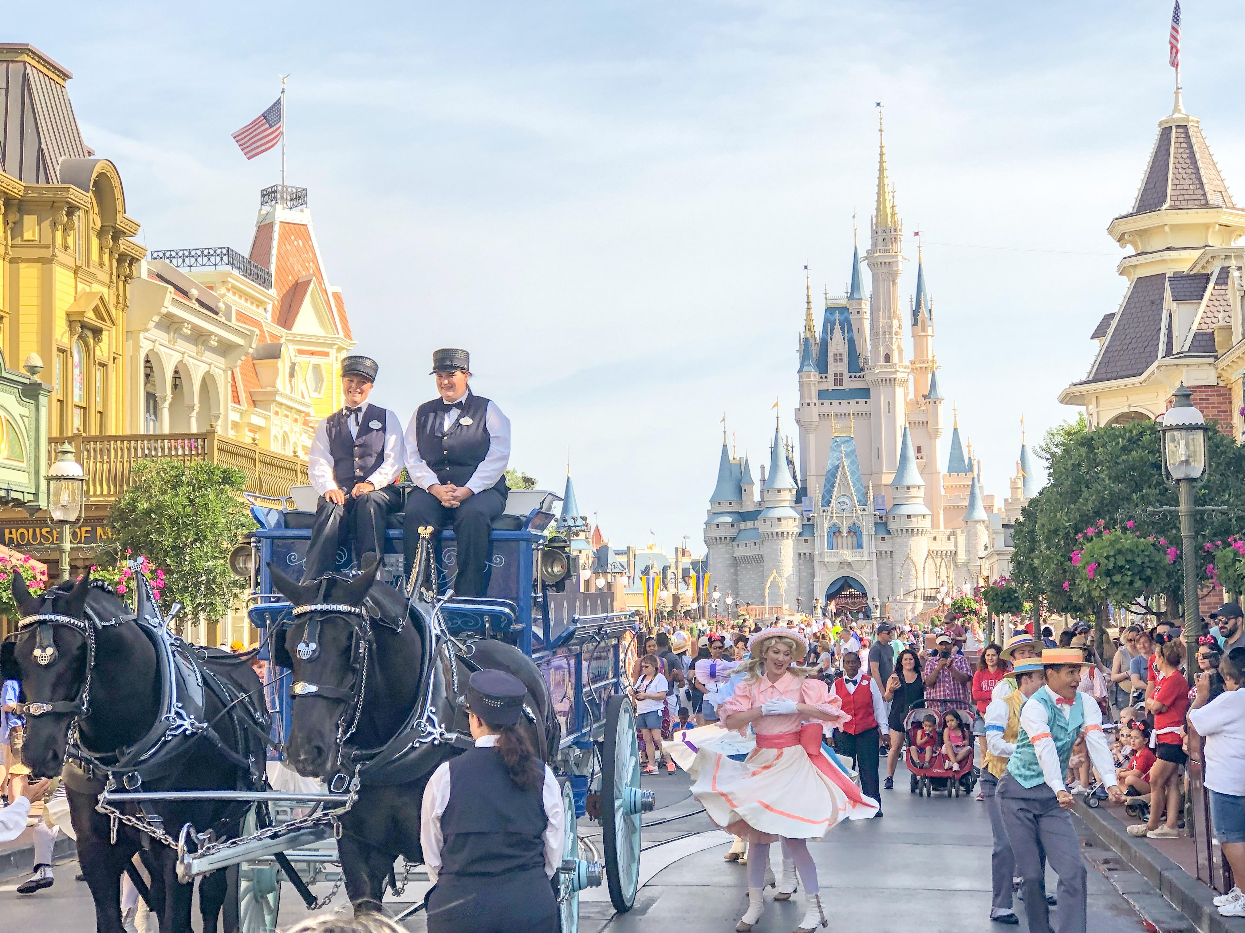 Magic kingdom photo report Main Street