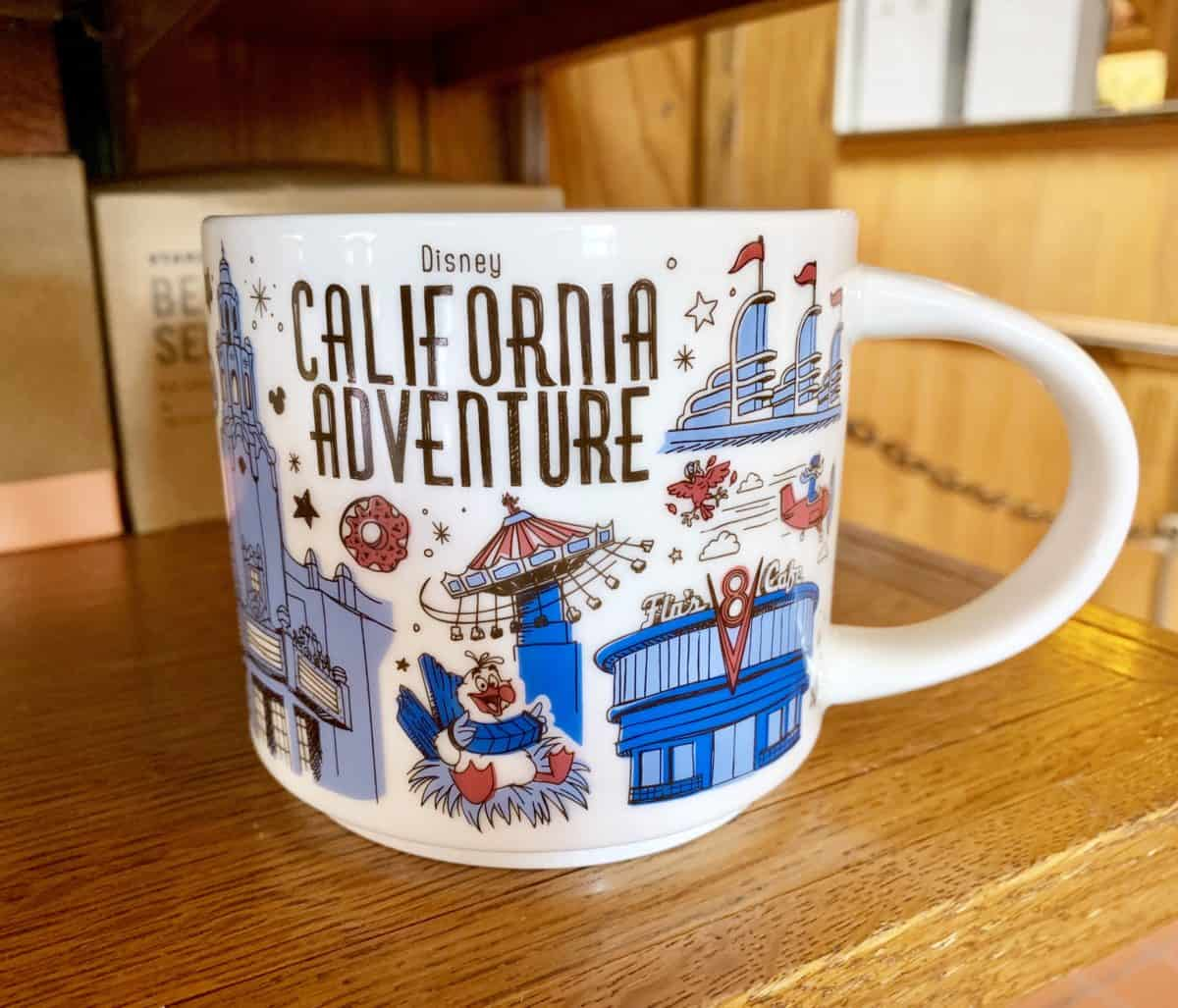 Disney California Adventure Been There Starbucks Mug