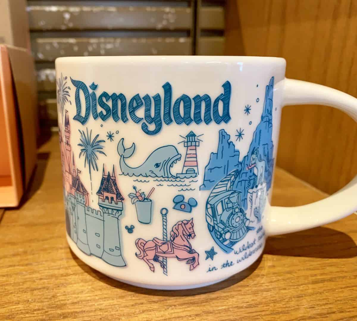 "Disneyland ""Been There"" Series Starbucks Mug"