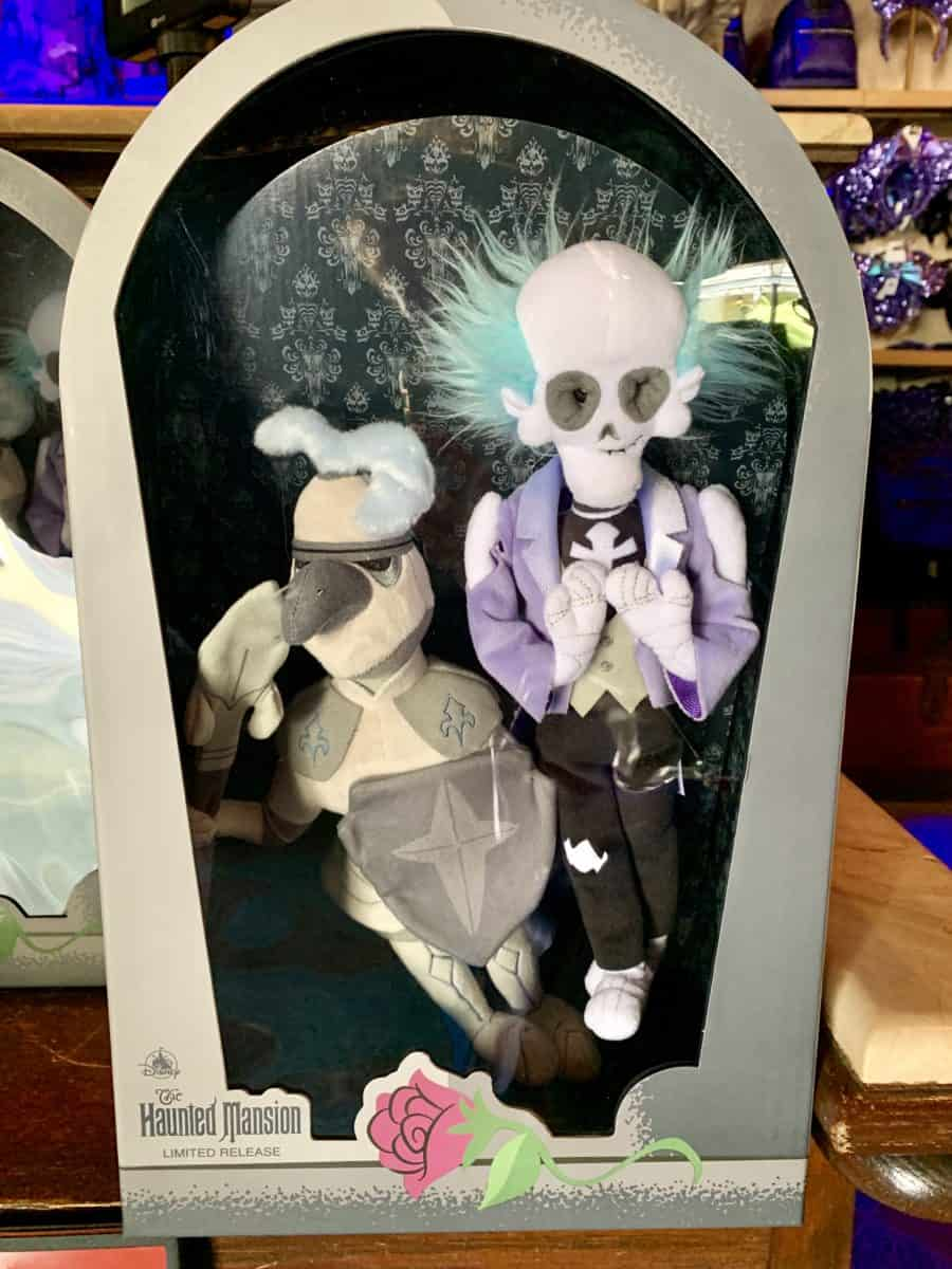 Ghost Host and Knight Haunted Mansion Limited Edition Plush Set