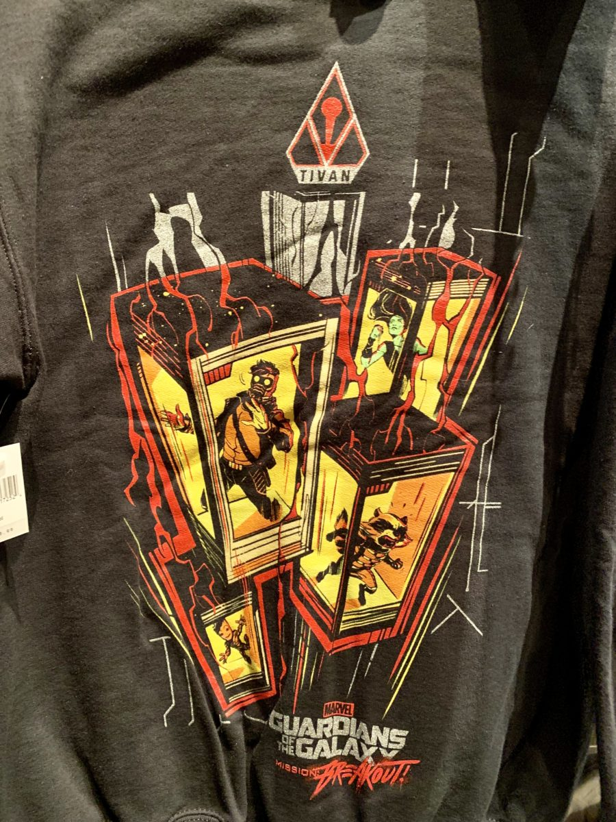 New Guardians of the Galaxy Mission BreakoutApparel Disney California Adventure