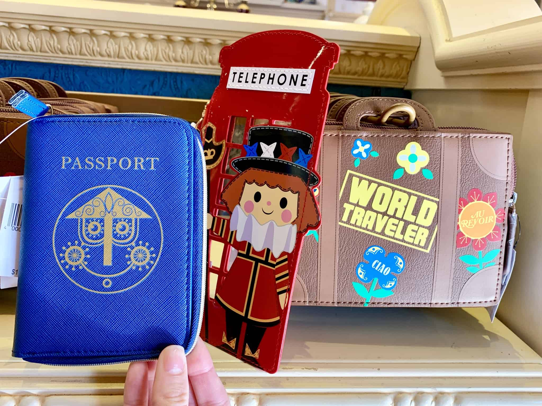 it's a small world zip coin purse disneyland