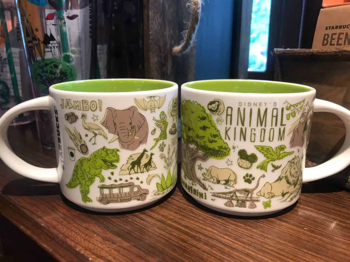 Photos All New Been There Series Starbucks Mugs Trek Into Disney S Animal Kingdom Wdw News Today