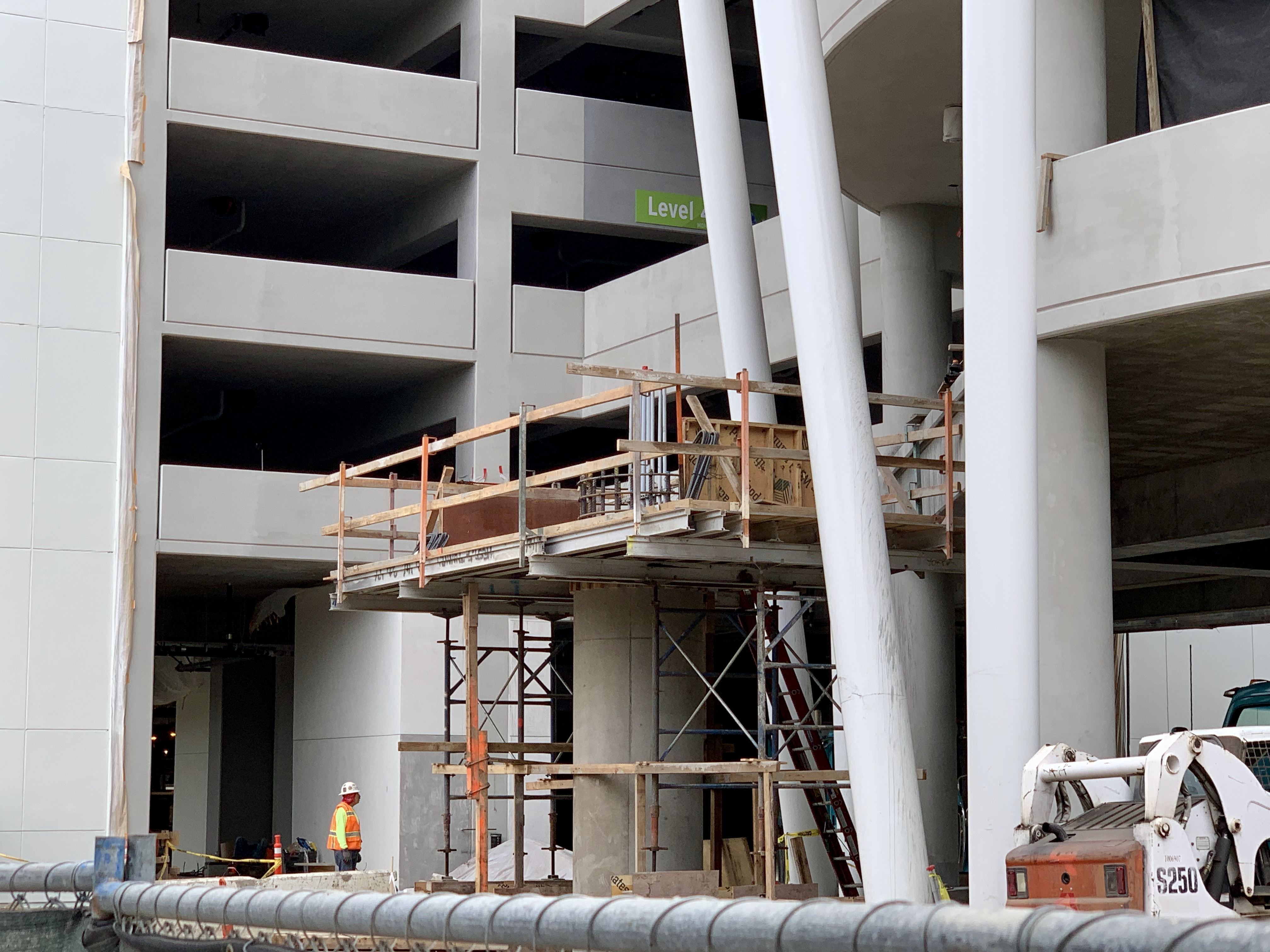 Pixar Pals Parking Structure Update May 8 2019