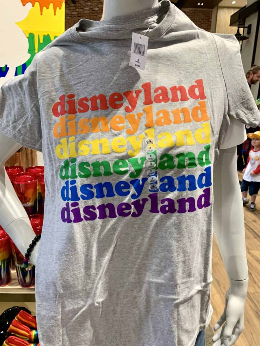 Rainbow Disney Pride Collection Disneyland Resort