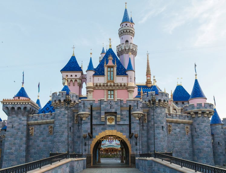 Disneyland Sleeping Beauty Castle Refurbished Refurbishment