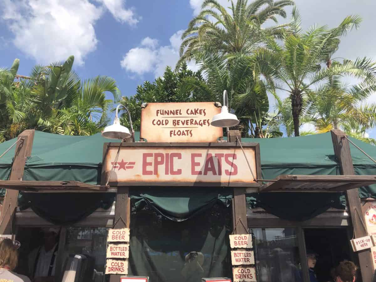 Oasis Canteen Changes to Epic Eats At hollywood studios