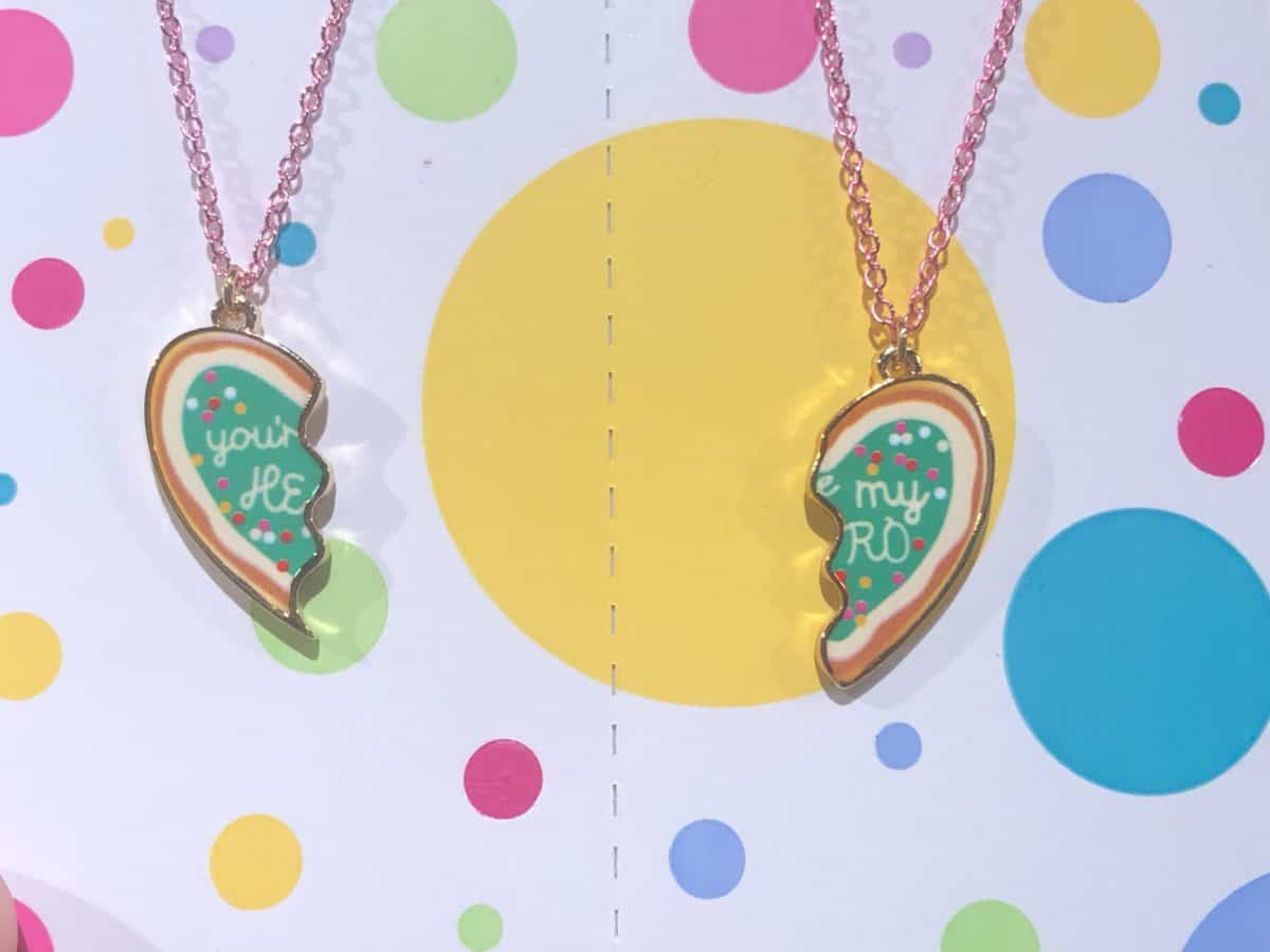 Vanellope Cookie Medal Necklace