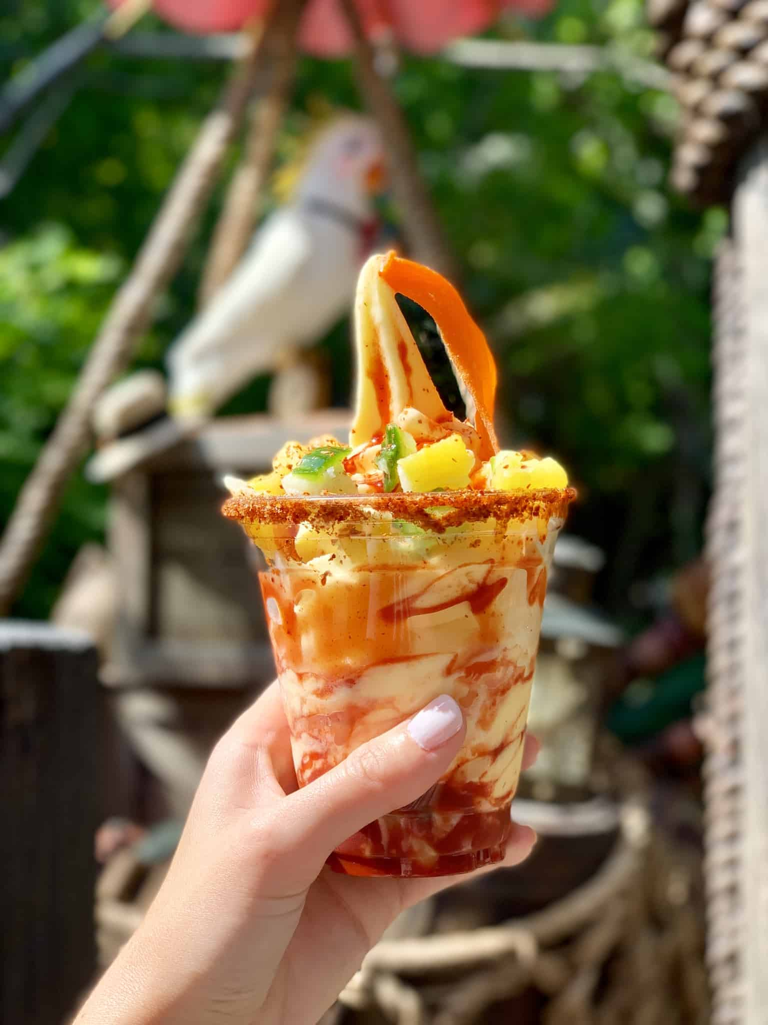 Chile Mango Dole Whip Tropical Hideaway Disneyland Park