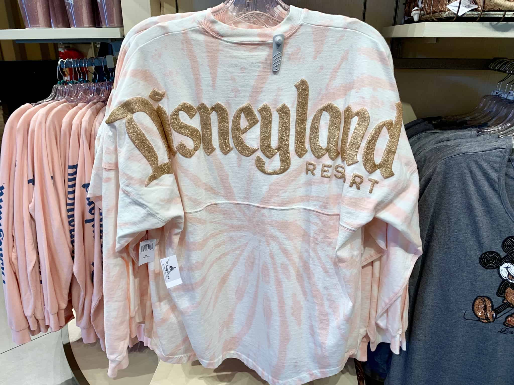 Tie Dye Briar Rose Gold Spirit Jersey Disneyland Resort