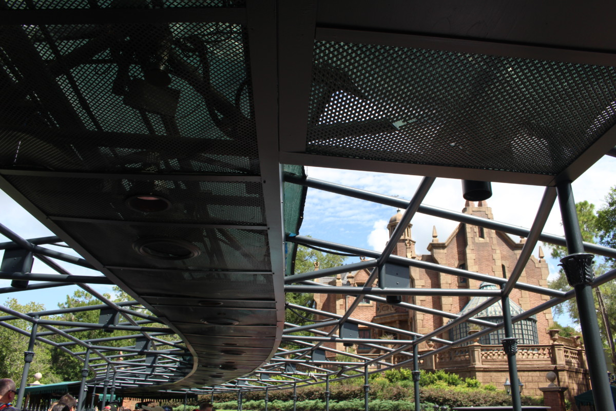 haunted mansion awning