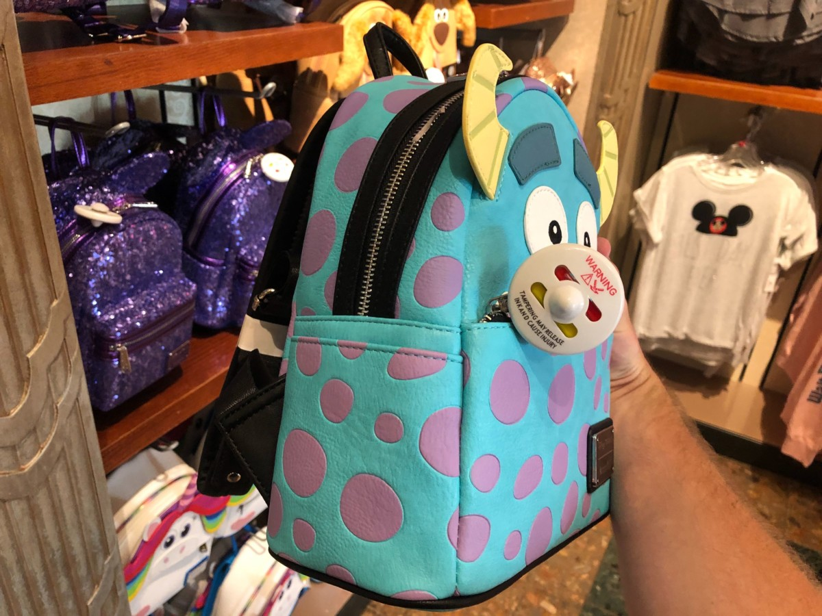 Mike Sulley Monsters Inc Loungefly Bags Sunset Club Couture Disney's Hollywood Studios