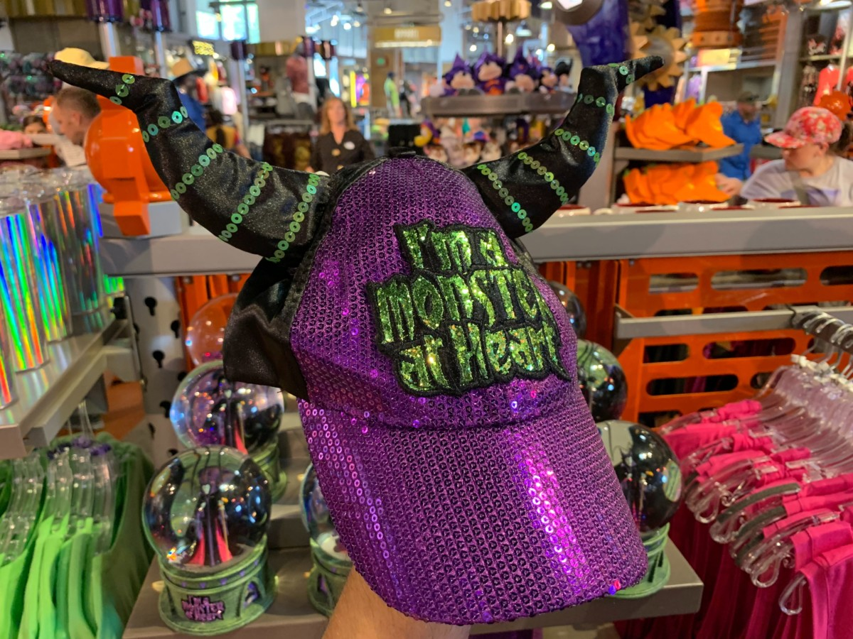 """Maleficent """"I'm A Monster At Heart"""" Hat - $27.99"""
