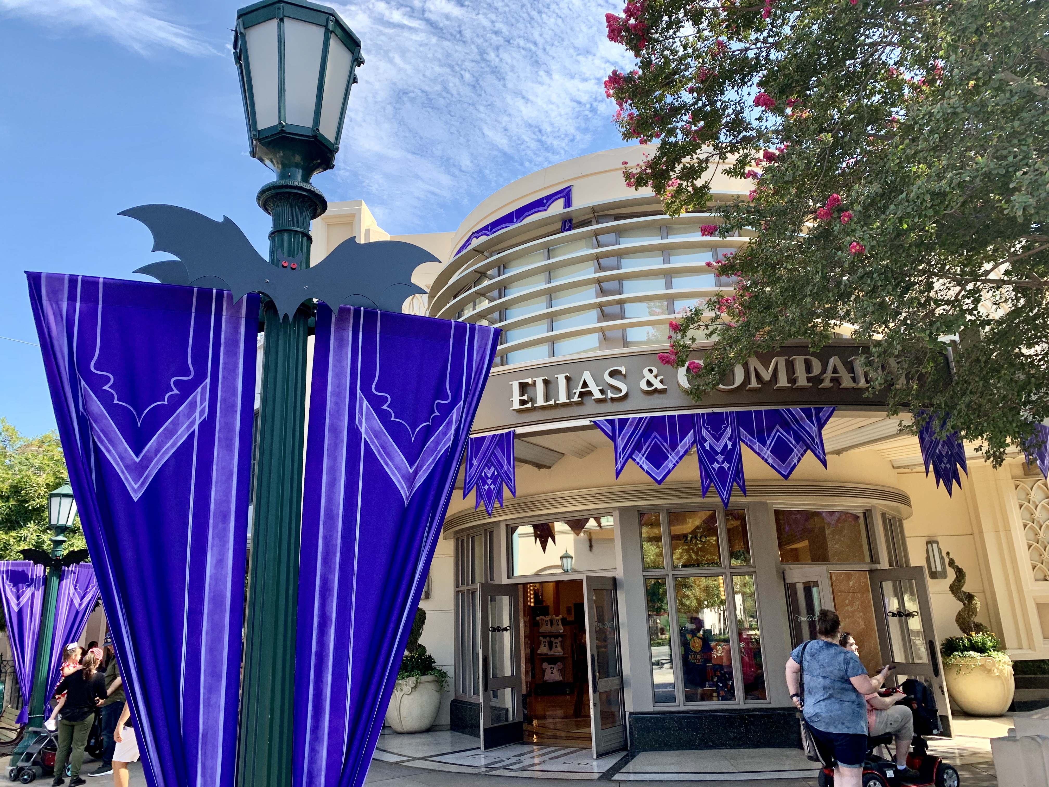 Disney California Adventure Photo Report 9:4:19 Tiana Alex and Ani Bangle, Halloween Decorations and More!