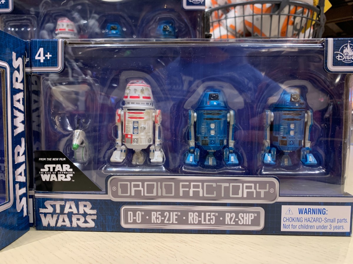 triple force friday world of disney droid factory