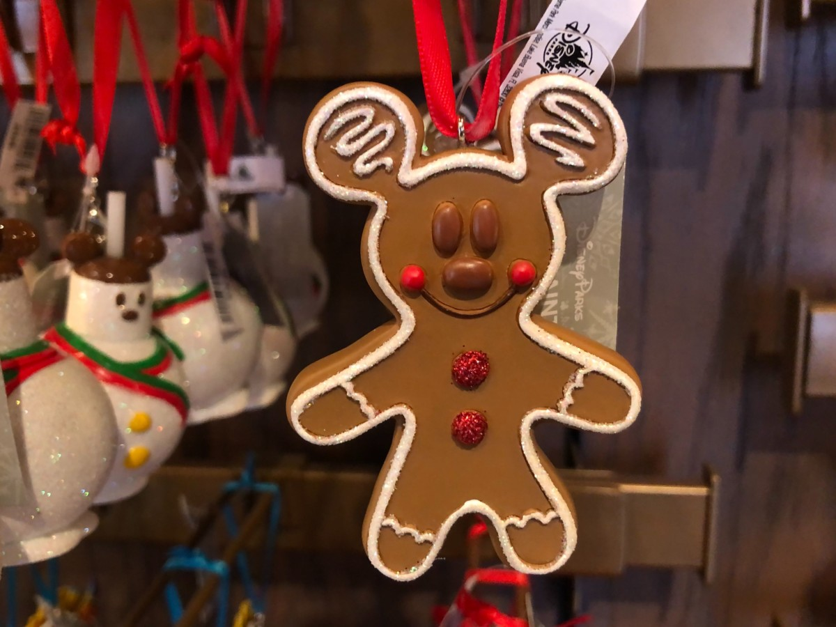 Mickey Mouse Gingerbread Ornament - $16.99