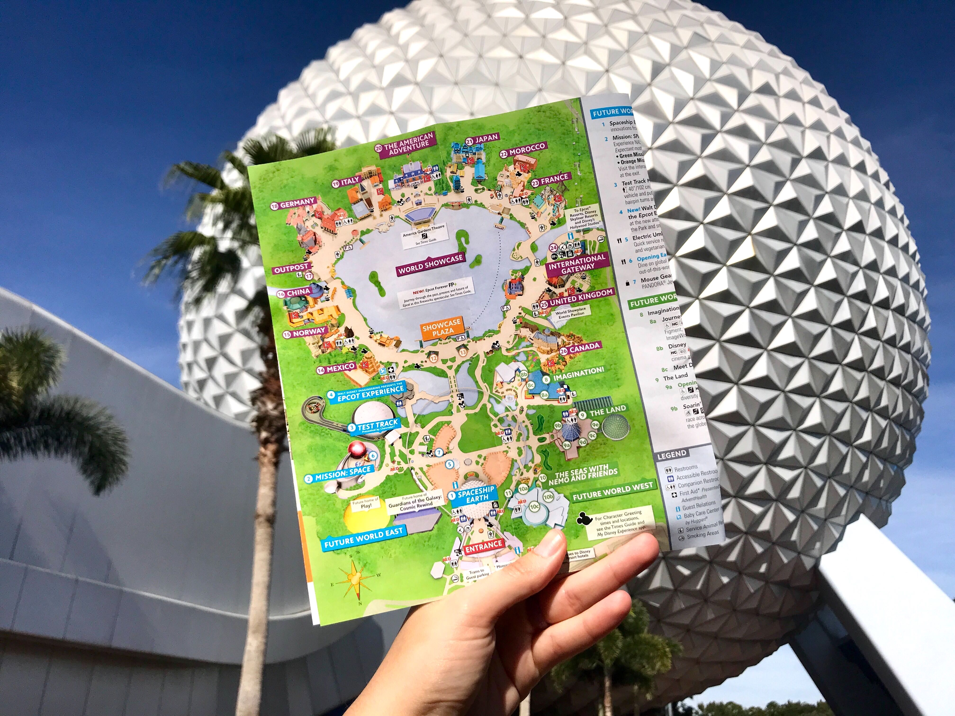 PHOTOS: New EPCOT Map Lists Canada Far and Wide, Awesome ...
