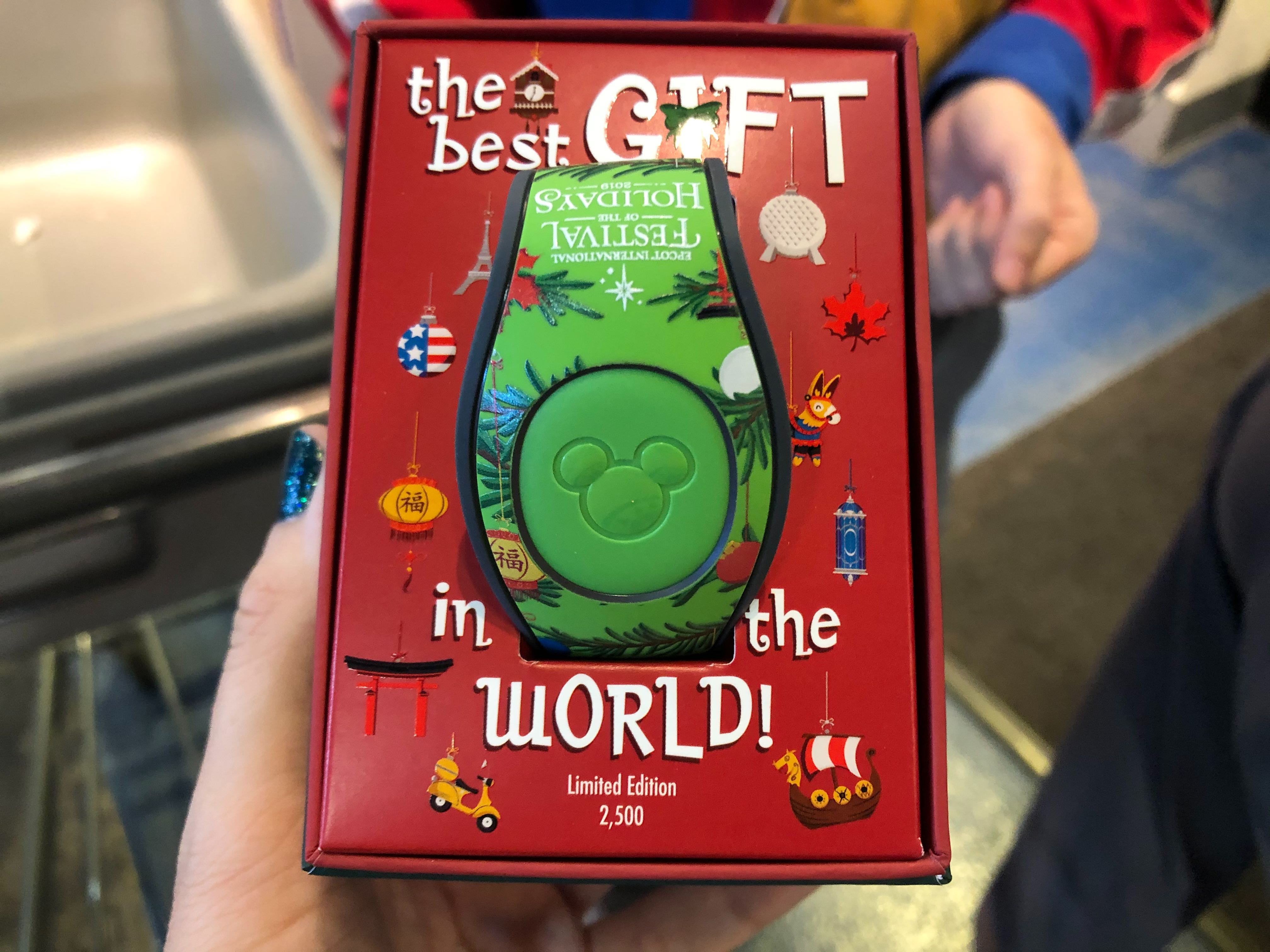 Limited Edition 2019 EPCOT International Festival of the Holidays MagicBand - $34.99