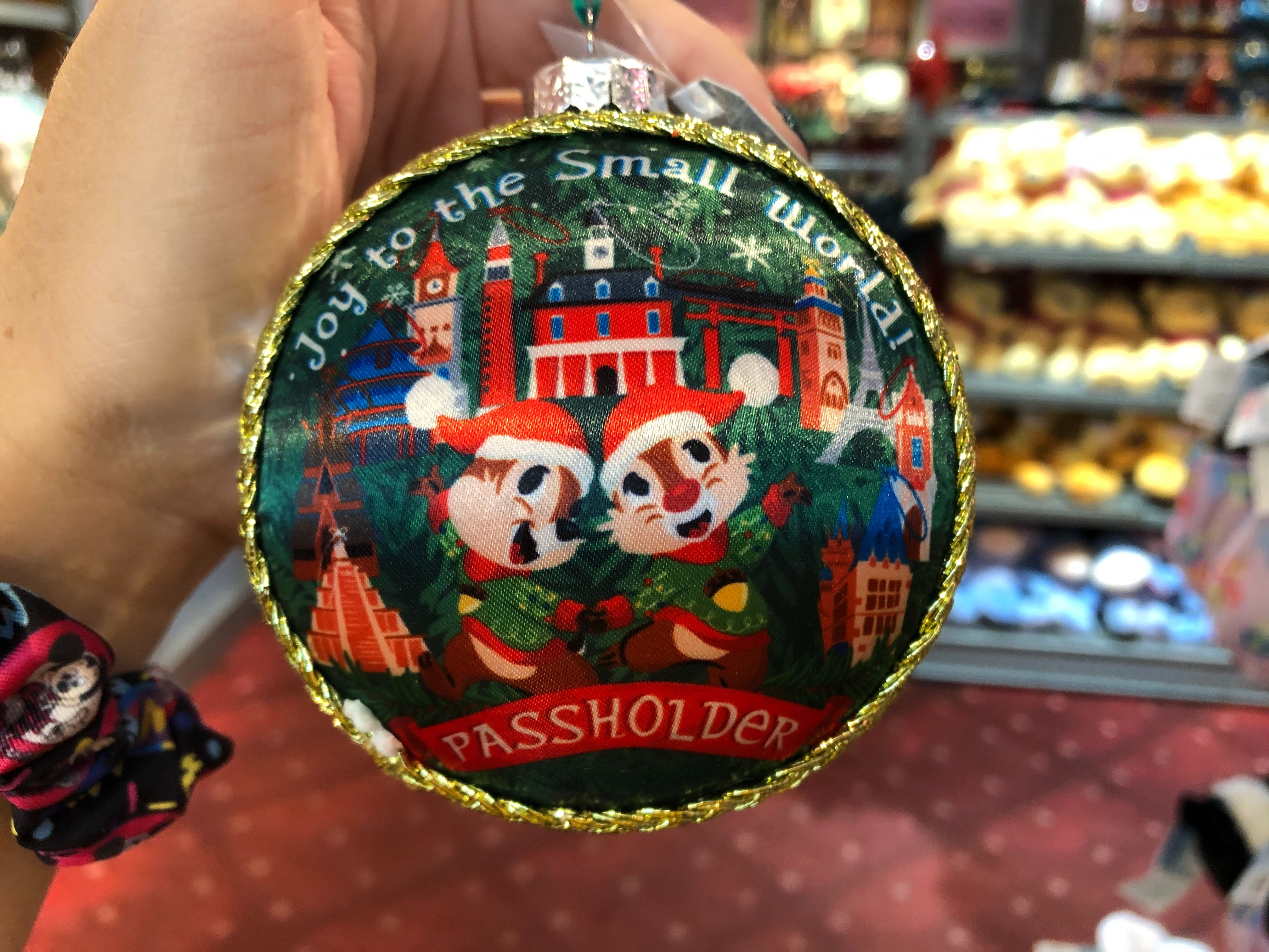 Annual Passholder Festival of the Holidays Ornament - $24.99